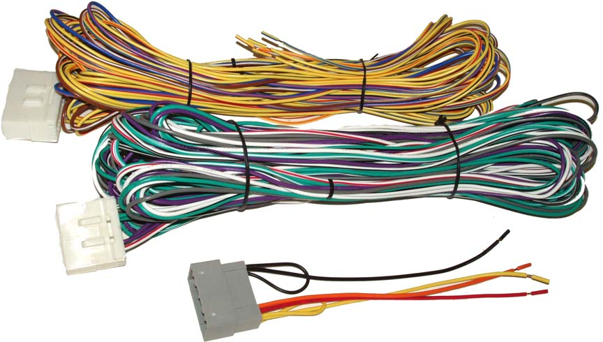 mobilistics – 2004-2005 dodge ram with hands-free amp bypass wiring harness  – wh0938