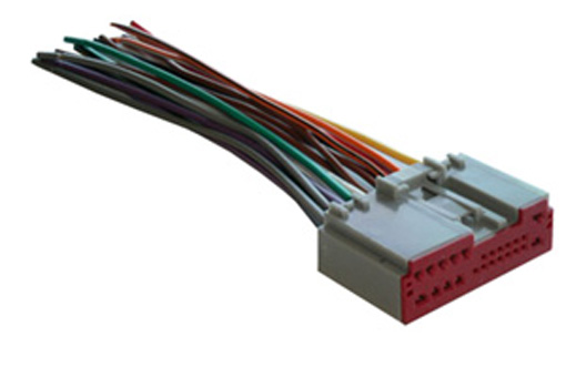 mobilistics – 2003-up ford/lincoln/mercury oem radio wiring harness – wh171